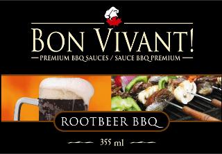 Root Beer Sauce Label